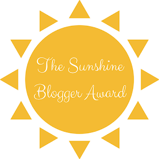 Get to Know Me Tag - The Sunshine Blogger Award