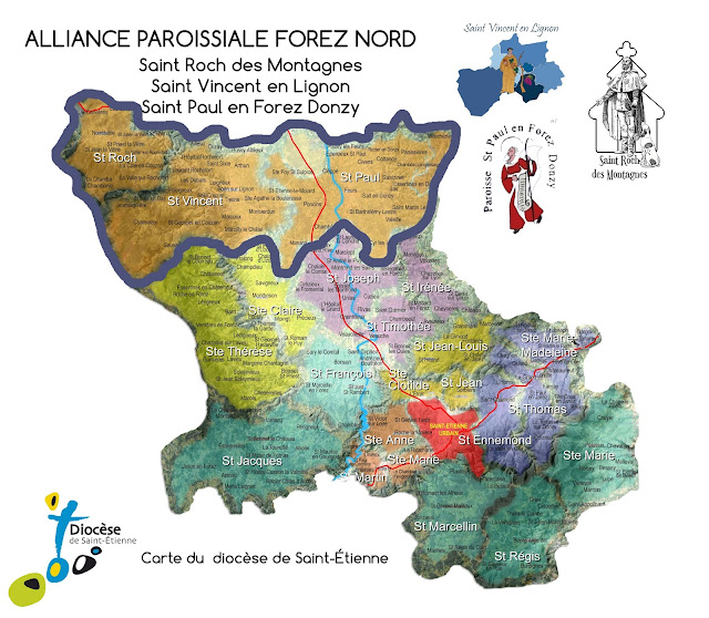 L'alliance paroissiale Nord Forez