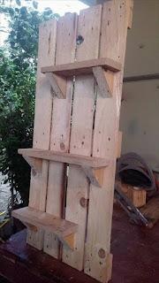 decoracion de hogares con pallets de madera desarmados
