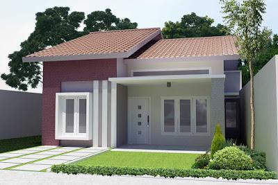 Desain teras rumah minimalis simple tapi terlihat mewah