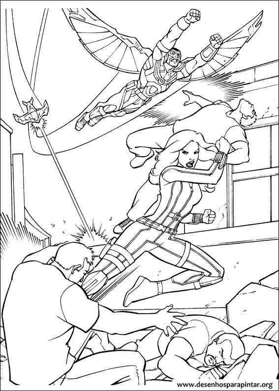 coloring pages for kids free images captain america civil war and avengers free coloring pages