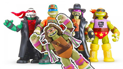 WWE Teenage Mutant Ninja Turtles prima e seconda serie