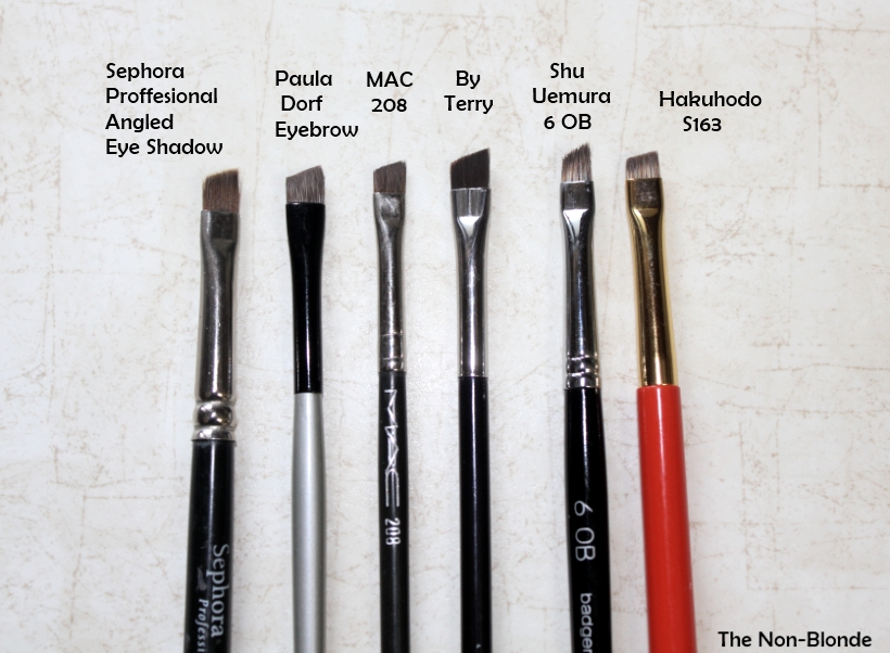 By Terry Eye Angled Eyeliner Brush The Non Blonde