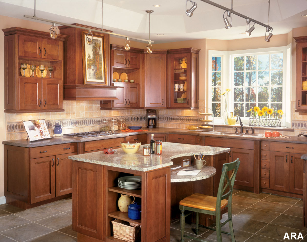 Modular Kitchen - Island Kitchen Designs | Womens Diary . . .