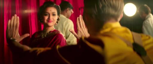 Keerthy Suresh in Mahanati in red color