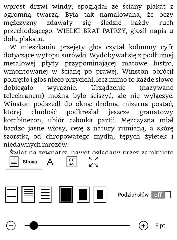 PocketBook Touch HD 3 – najwęższe marginesy