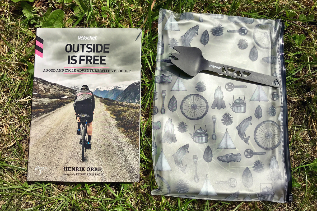 Book Review - Velochef Outside Is Free