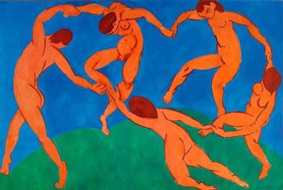 """Lukisan """"The Dance"""" oleh Henri Matisse"""