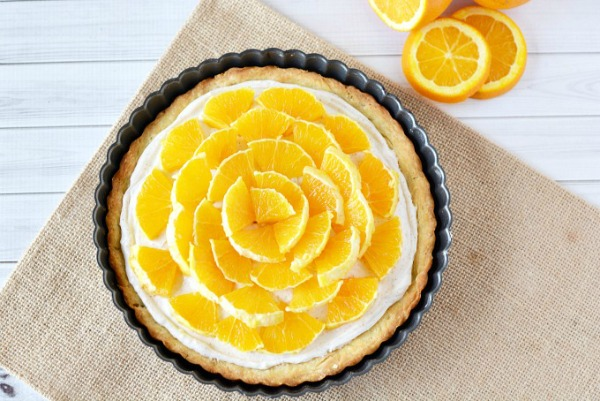 Orange Clove Tart Recipe from The Rebel Chick