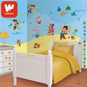 Disney Jake and the Neverland Pirates Room Décor Kit