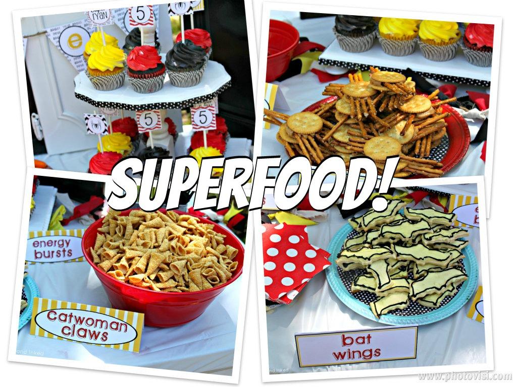 Batman Birthday Party Food Ideas