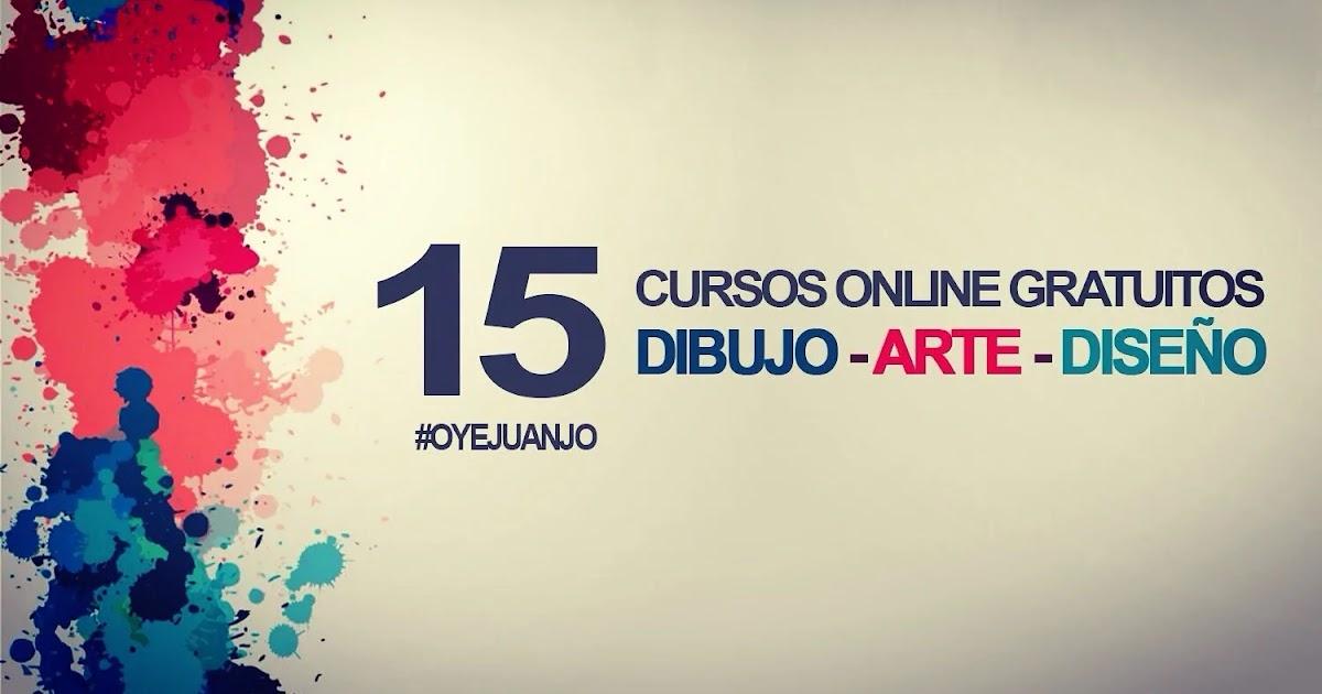 15 cursos online gratis de dibujo arte y dise o con for Paginas decoracion online