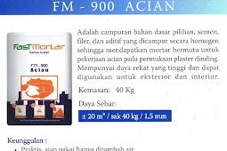 SPESIFIKASI DAN KEUNGGULAN FM-900 ACIAN INSTANT