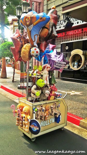 Stuff toys for sale in Universal Studios Singapore