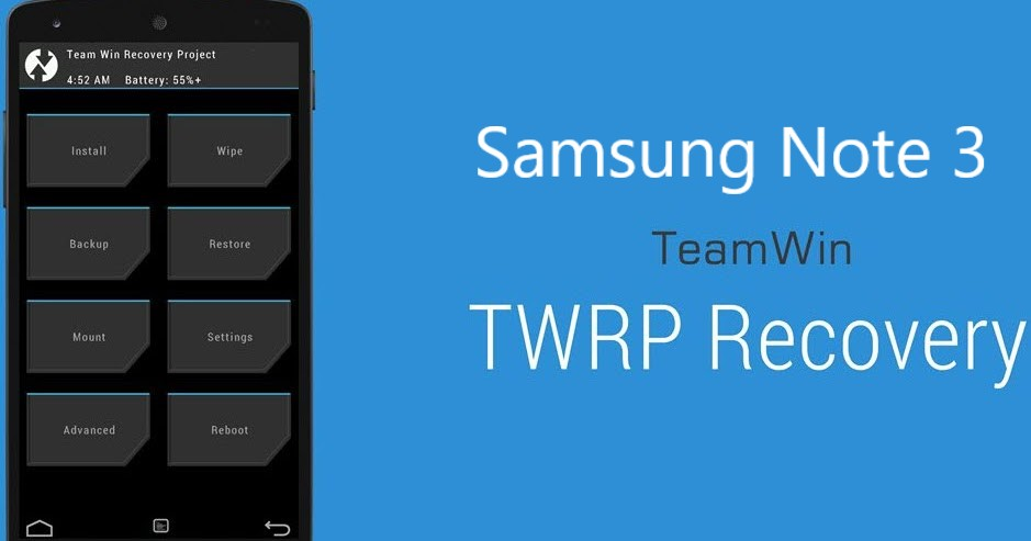 Computy10: Install TWRP recovery on Galaxy Note 3