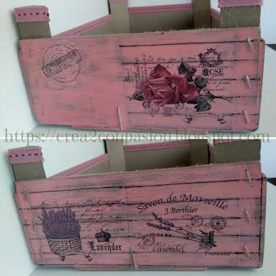 Collage-caja-decapada-pintura-a-la-tiza-transferencias-embossing-sellos-y-cintas