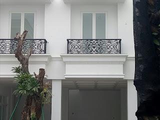 contoh Railing Balkon Besi tempa