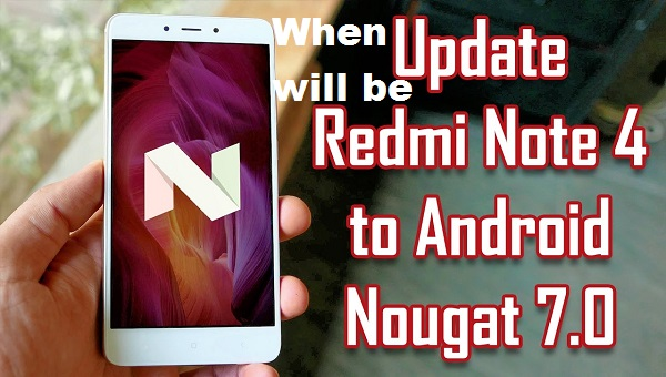 android nougat for redmi note 4