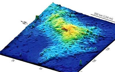gunung berapi tamu massif