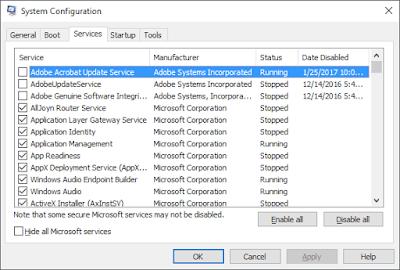 Should You Ever Disable a Windows Service?