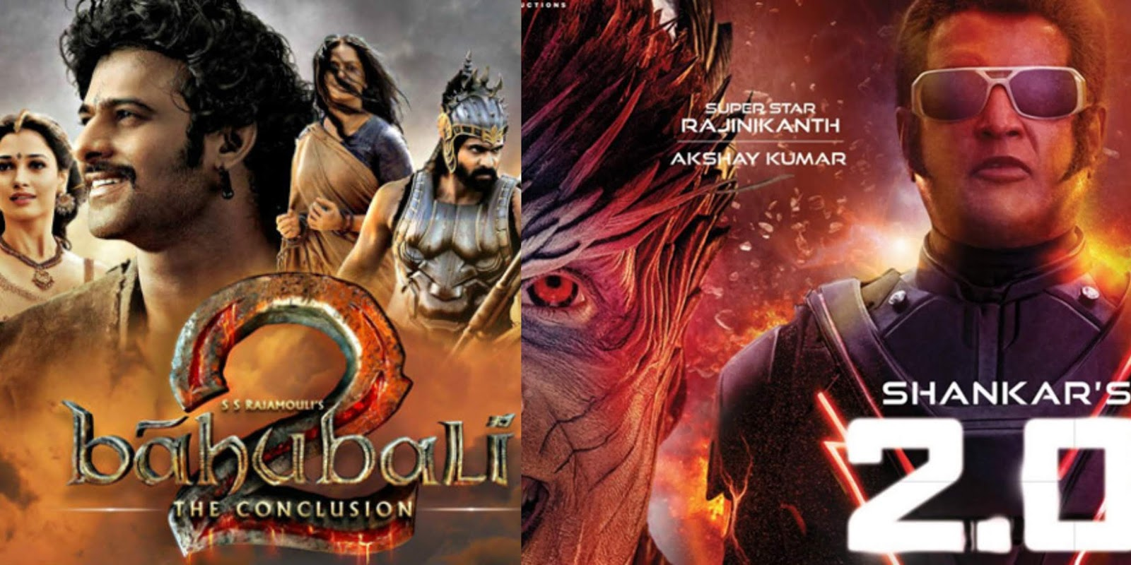 Baahubali Day 1 Records Are Safe: #2PointO Day 1 BO Collections In India!