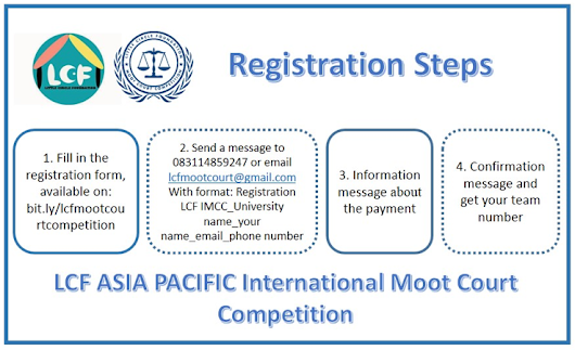 LCF ASIA PACIFIC INTERNATIONAL MOOT COURT COMPETITION 2017