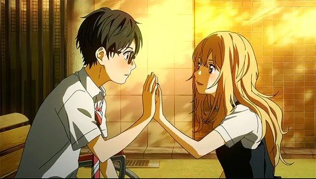 Arima X Kaori - Review anime Shigatsu wa kimi no uso April Fool feels