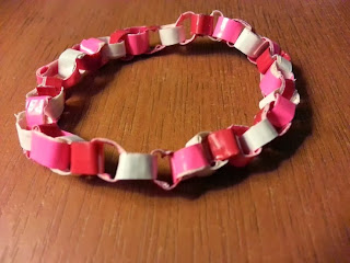 Mini Paper Chain Duck Tape