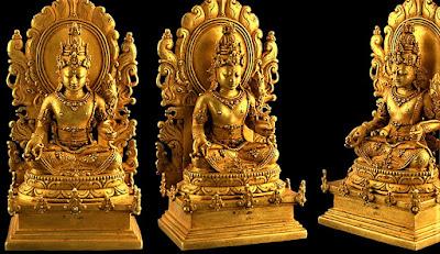 arca emas peninggalan majapahit