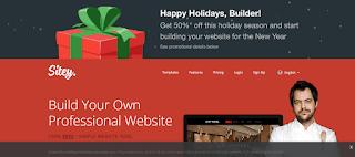 Free Website Builder Sitey.Com