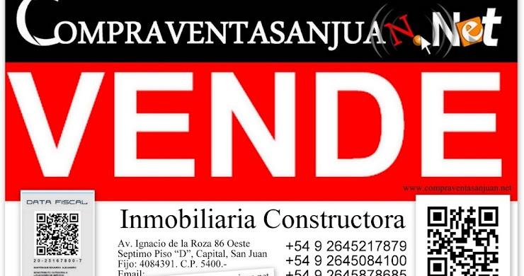 VENDO LOTES DE 595 M2 EN BARRIO CRECER SANTALUCEÑO, SANTA LUCIA, SAN JUAN - ARGENTINA.