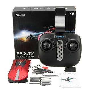 Drone-Eachine-E52-Wifi-HD-Cámara FPV-drones