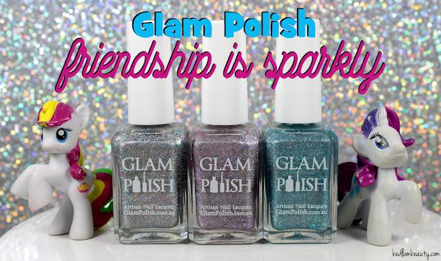 Glam Polish Friendship is Sparkly Trio