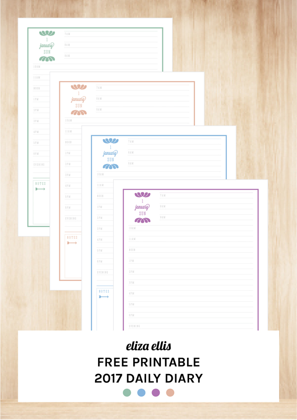 The Ultimate Free Printable Calendars & Planners by Eliza Ellis
