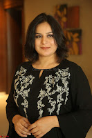 Cute Poja Gandhi in black dress at Dandupalyam 2 Movie press meet  ~  Exclusive 76.JPG