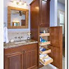 Storage containers for bathroom vanity