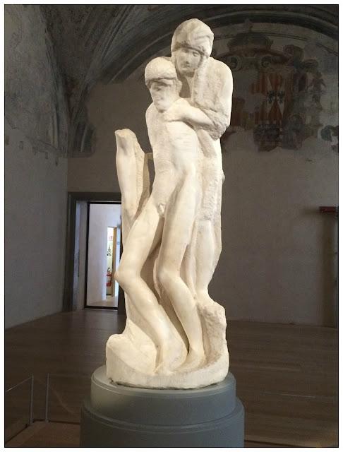 Museus no Castelo Sforzesco em Milão - Pietá Rondanini