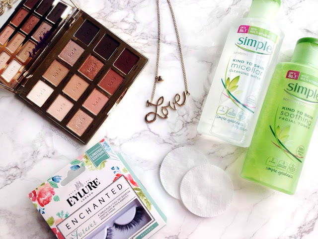April Favourites Simple, Tarte, Eylure London