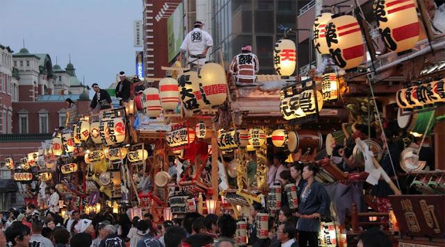 Fukaya Matsuri (summmer festival), Fukaya City, Saitama Pref.