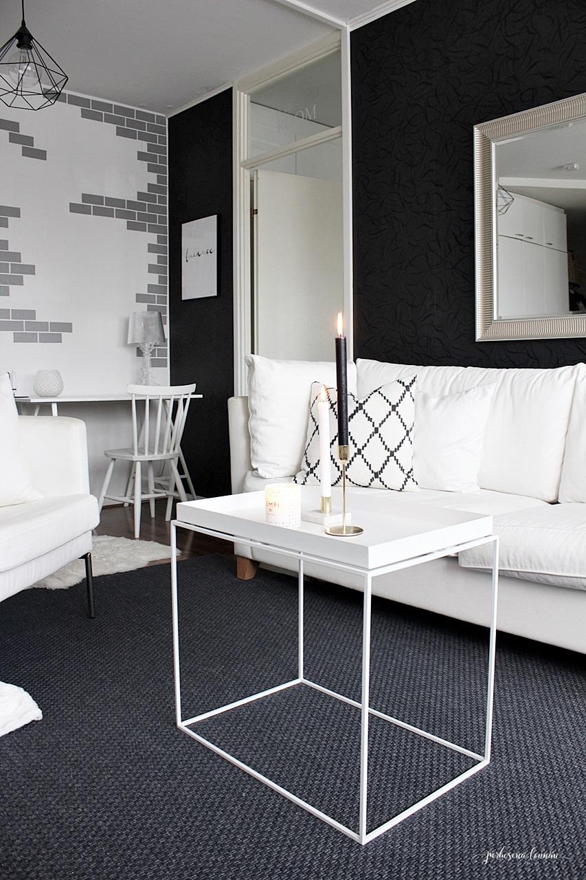 Olohuone Livingroom scandinavian home Chhatwal&Jonsson Ikat Kerela