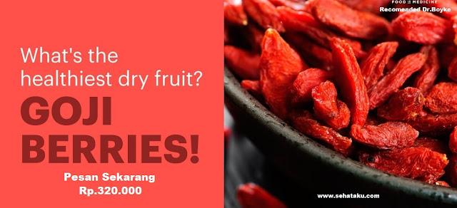 Jus untuk mengecilkan perut goji berry