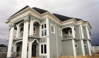 Akpororo' mansion