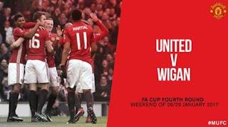 Manchester United Hadapi Wigan di Putaran Kempat Piala FA