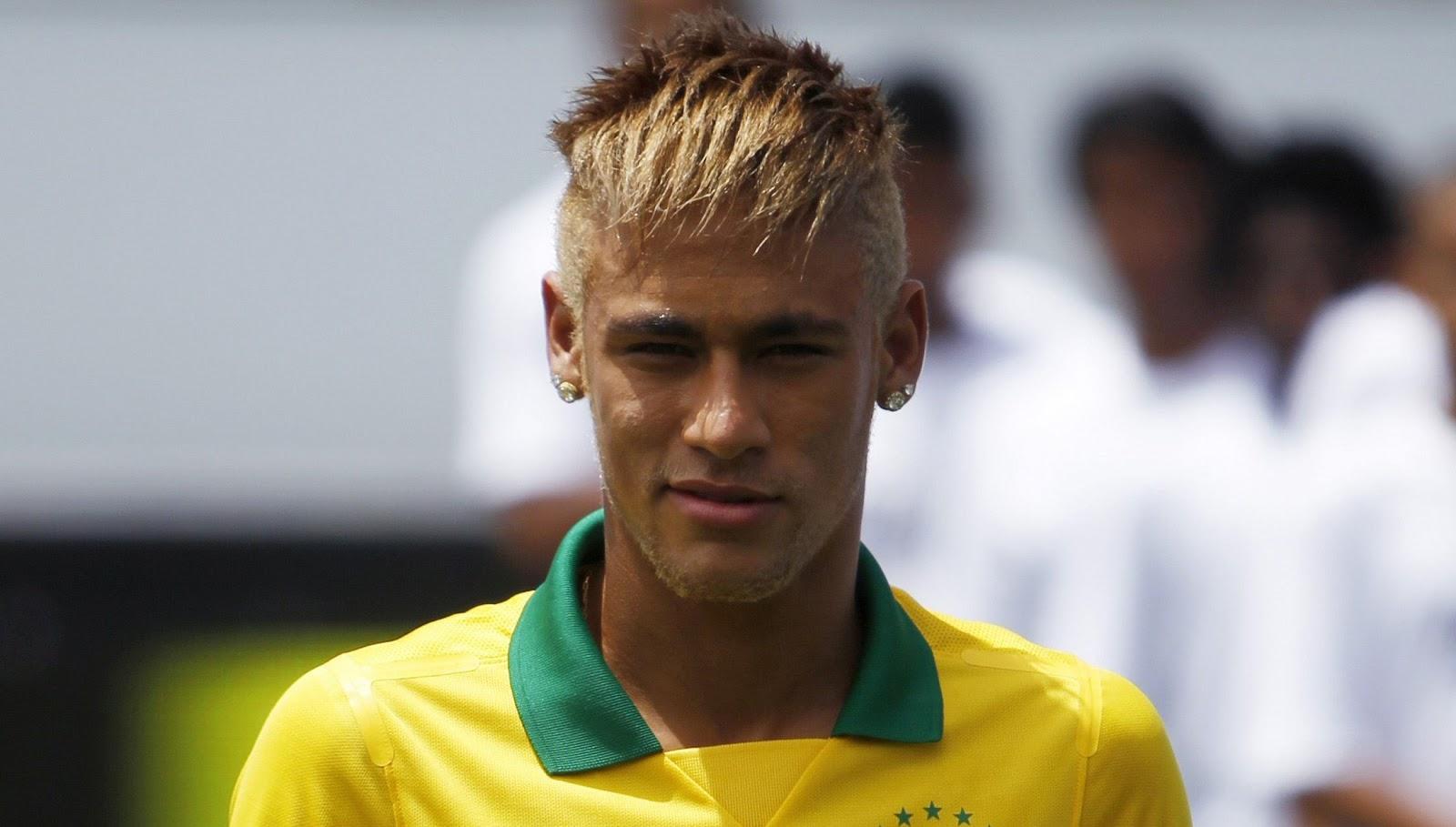 Neymar  New Hair Cuttphotos Download In