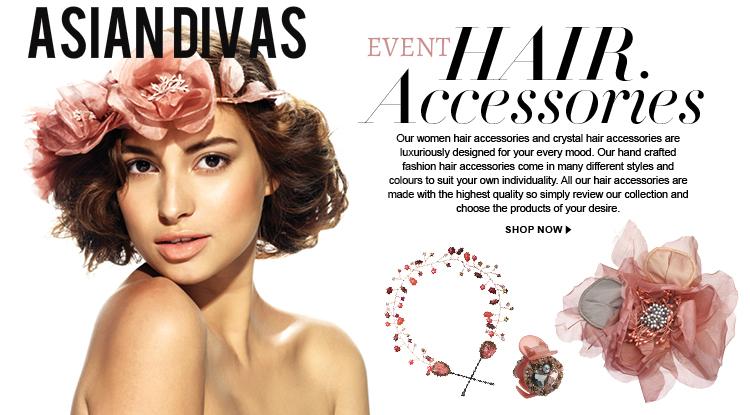 ASIAN DIVAS : ASIAN DIVAS EVENT HAIR ACCESSORY STORE