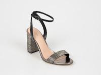 Sandale ALDO negre, AGRIEDIA, din piele ecologica