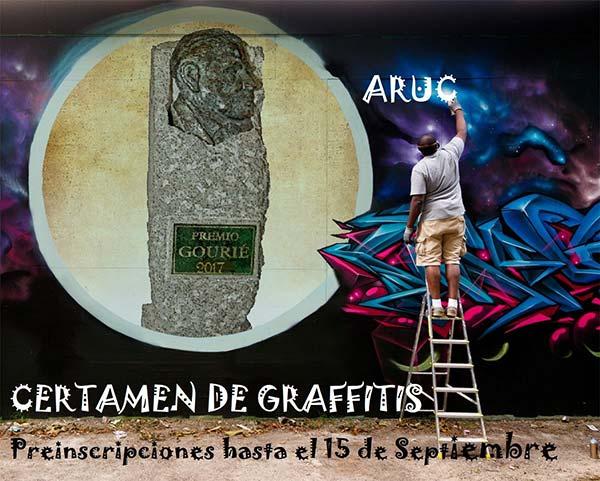 I Certamen de Graffitis, Gourie 2017, Arucas