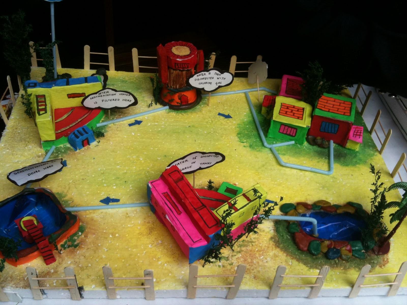Bbps (Bal Bharati Public School), Rohini: Science Model on ...