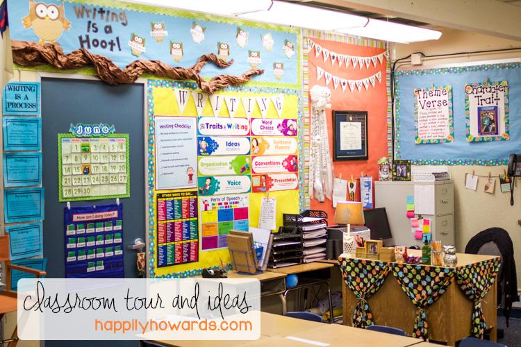 Classroom Tour and Ideas