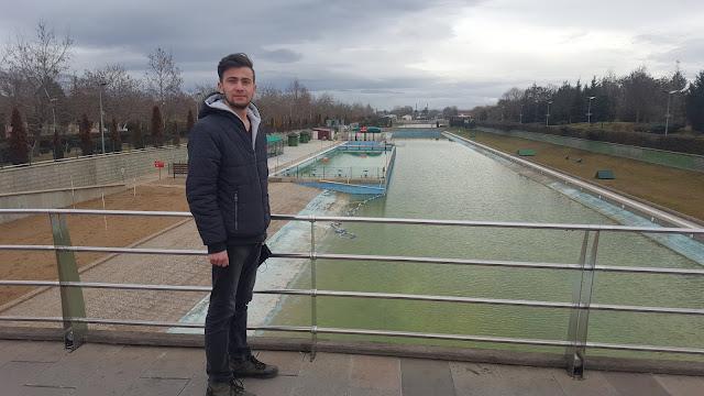 Harun İstenci Eskişehir Kent Park Yapay Plajda. Tepebaşı,Eskişehir - Ocak 2019